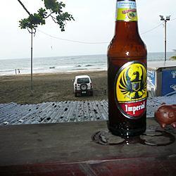Costa Rica - 2010 | A Chanchito le gusta la cerveza.