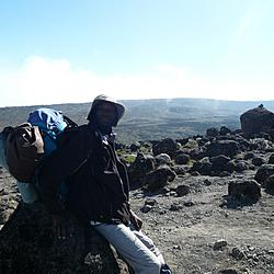 Kilimanjaro Day 3 | Godfrey chillin'