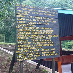 Kilimanjaro Rules