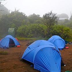 Night 1 - Machame Huts