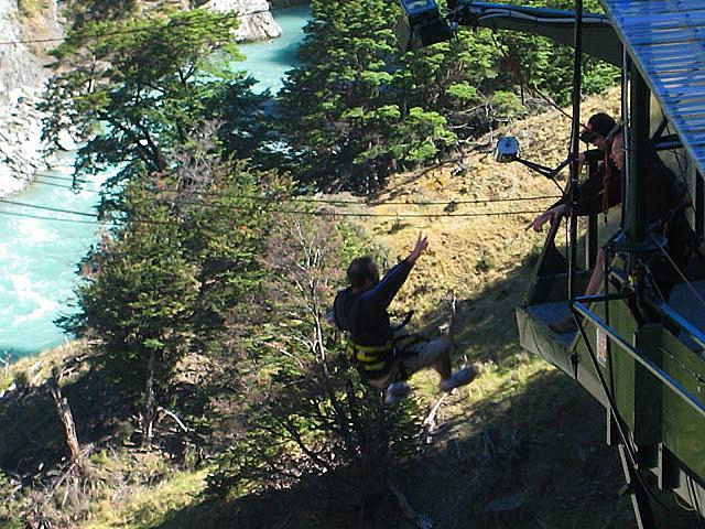 Canyon Swing!