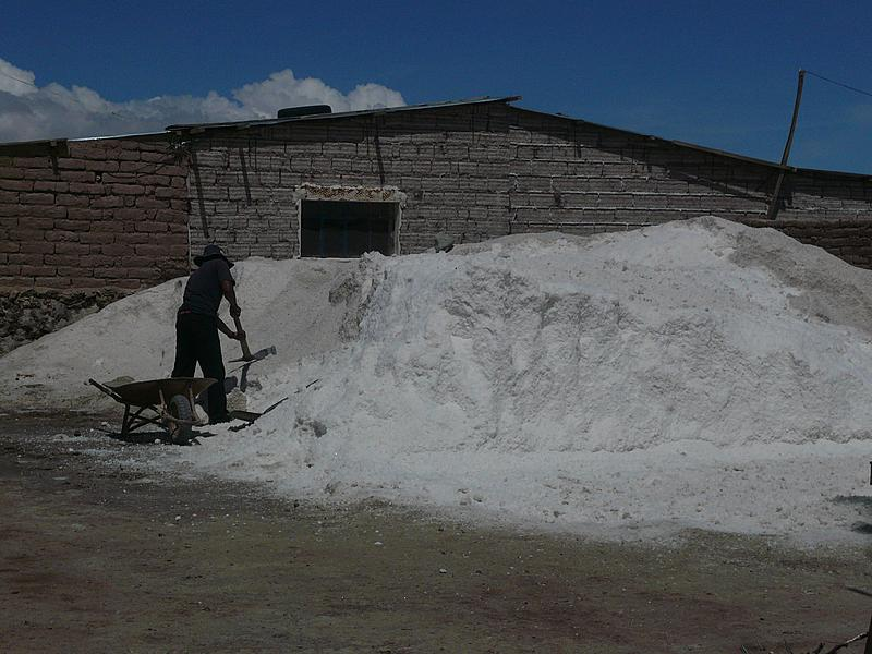 Shovelling cocaine--I mean salt | Shovelling cocaine--I mean salt