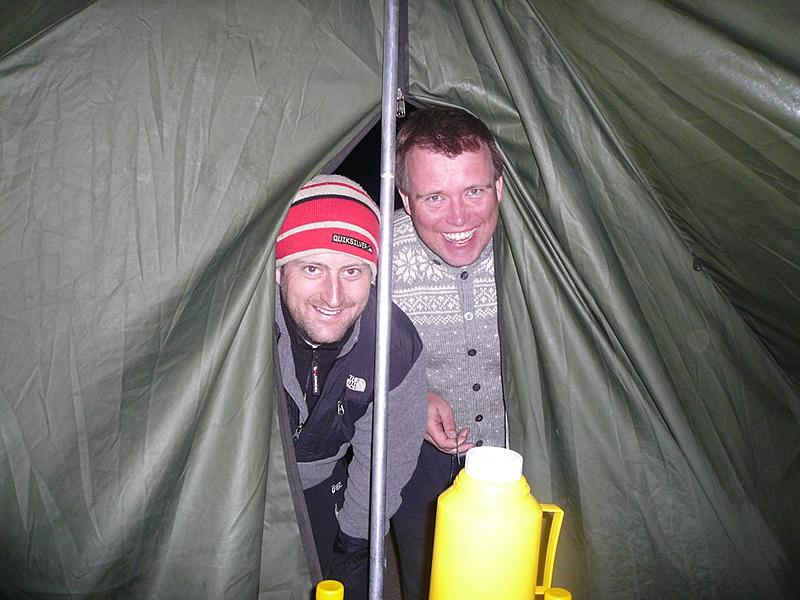 Kilimanjaro Day 3 | Alex and Brian, our comic relief duo, pops in.