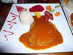 Tenderloin in Curry Sauce. Delicious.