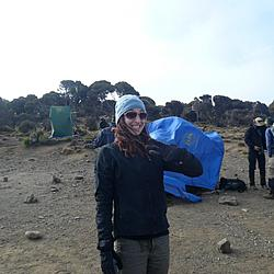 Kilimanjaro Day 3 | Julienne's excited for the third day.