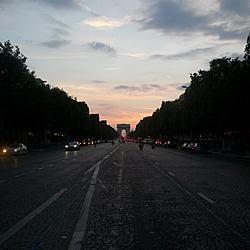Arc de Triomphe from Champs-Élysées