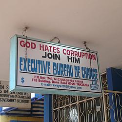 God Hates Corruption Join Him